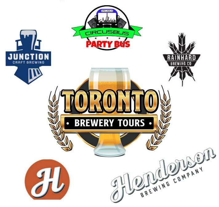 distillery and brewery beer tour logos